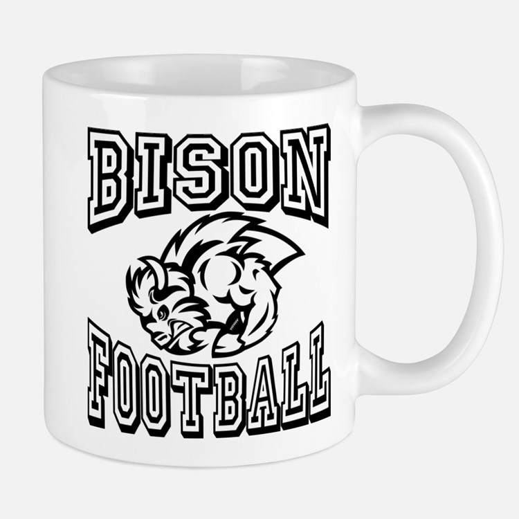 Bison Football Mugs