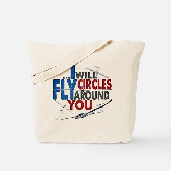 Glider Pilot Boasting Tote Bag