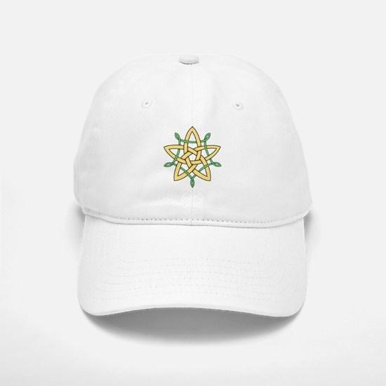 Celtic Star 2 Baseball Baseball Cap