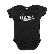 Angus, Retro, Baby Bodysuit