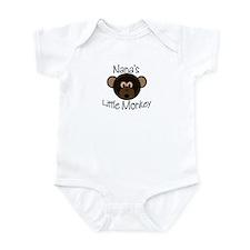 Nana's Little Monkey Baby/Toddler Onesie
