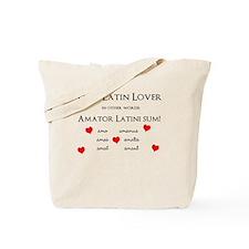 Latin Lover_Hearts Tote Bag