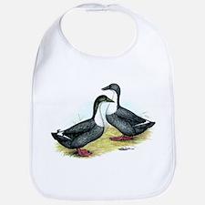 Blue Swedish Ducks Bib