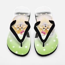 The Pom sisters Flip Flops