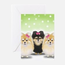 The Pom sisters Greeting Cards