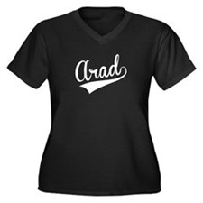 Arad, Retro, Plus Size T-Shirt