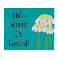 Busia 1 Throw Blanket