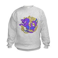 Celtic Hippocampus 2 Sweatshirt
