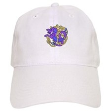 Celtic Hippocampus 2 Baseball Cap