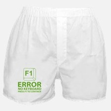 Error No Keyboard Press F1 To Continue Boxer Short