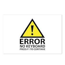 Error No Keyboard Press F1 To Continue Postcards (
