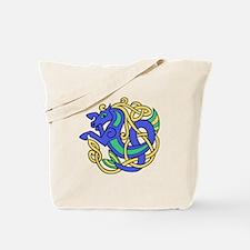 Celtic Hippocampus 2 Tote Bag