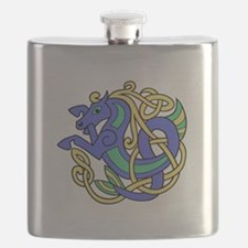 Celtic Hippocampus 2 Flask