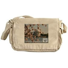 Cherry Blossom Festival Messenger Bag