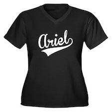 Ariel, Retro, Plus Size T-Shirt