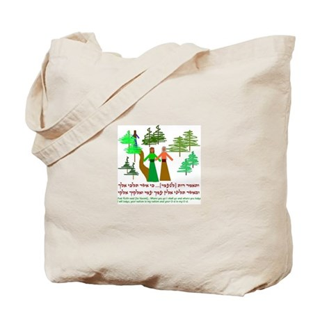 Ruth and Naomi Tote Bag