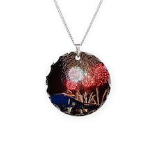 Blue Angels Fireworks Necklace