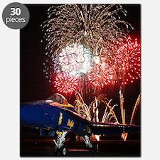 Blue Angels Fireworks Puzzle
