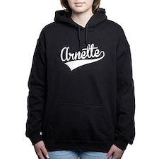 Arnette, Retro, Women's Hooded Sweatshirt