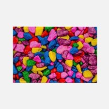 Colorful Stones Rectangle Magnet