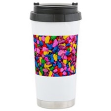 Colorful Stones Travel Mug