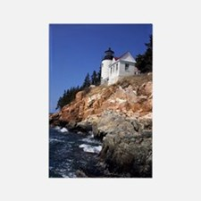 Bass Harbor Head Lighthouse Rectangle Magnet