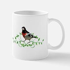 Rose Breasted Grosbeak Mug