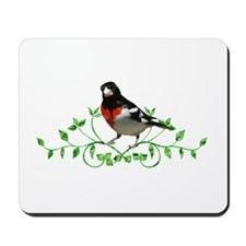 Rose Breasted Grosbeak Mousepad