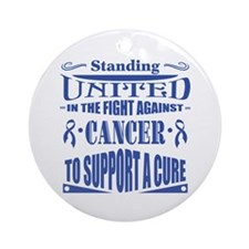 Anal Cancer United Ornament (Round)