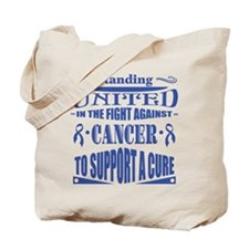 Anal Cancer United Tote Bag