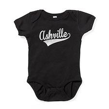 Ashville, Retro, Baby Bodysuit