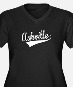 Ashville, Retro, Plus Size T-Shirt