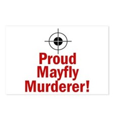 Proud Mayfly Murderer Postcards (Package of 8)