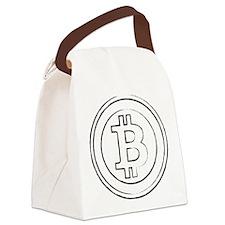 bitcoin4 Canvas Lunch Bag