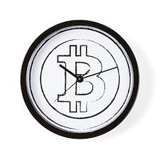 bitcoin4 Wall Clock