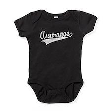 Assurance, Retro, Baby Bodysuit