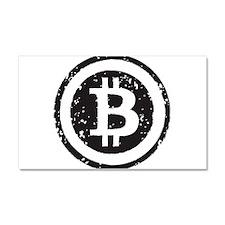 bitcoin5 Car Magnet 20 x 12