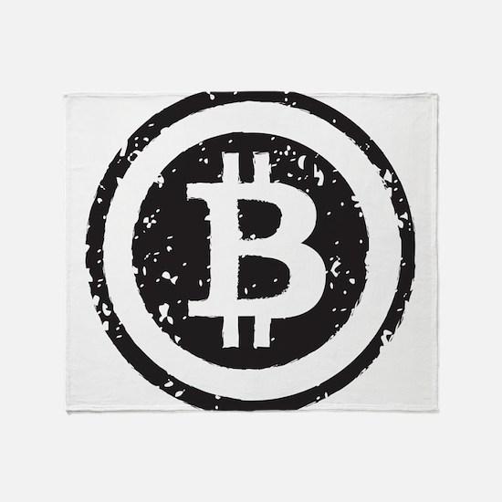 bitcoin5 Throw Blanket