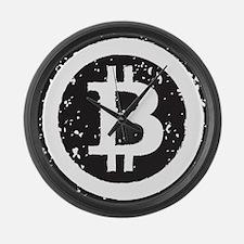 bitcoin5 Large Wall Clock