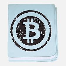 bitcoin5 baby blanket