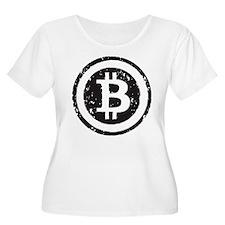 bitcoin5 Plus Size T-Shirt