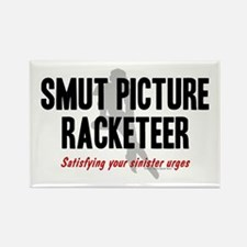 Smut Racketeer Rectangle Magnet