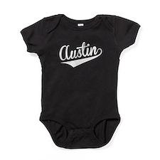 Austin, Retro, Baby Bodysuit