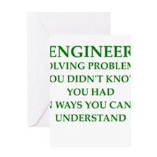 ENGINEER1 Greeting Cards