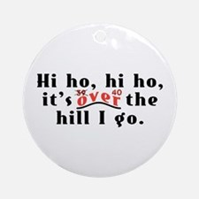 Hi Ho 40 Ornament (Round)