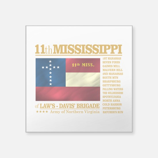 11th Mississippi Infantry (BH2) Sticker