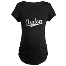 Ayden, Retro, Maternity T-Shirt