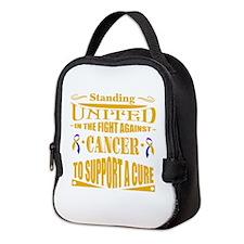 Bladder Cancer United Neoprene Lunch Bag