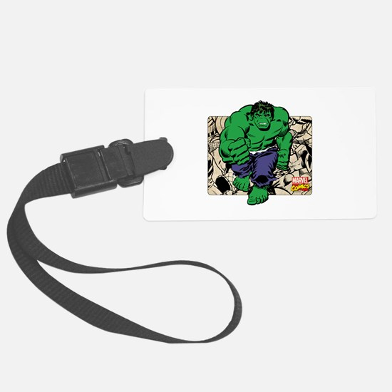 Hulk Charge Luggage Tag