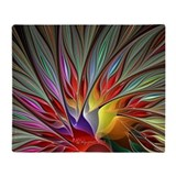 Bird of paradise Fleece Blankets